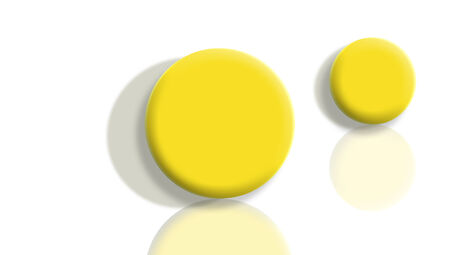 sportive: Yellow sportive balls perspective