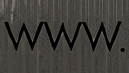Www dark grey abstract internet domain background photo