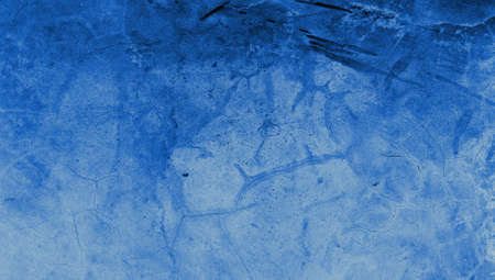 Blue cracked wall texture background photo