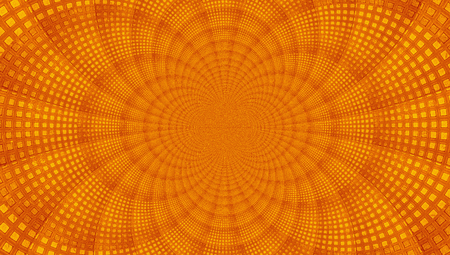 Orange concentric circular pattern abstract background photo