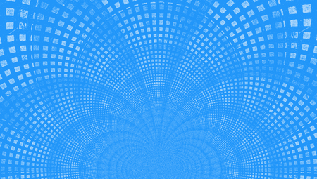 Light blue abstract background of small squares Imagens