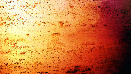 Orange marbel textured background photo