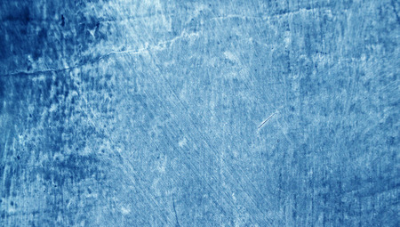 Blue grunge textured background photo