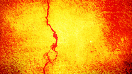 Fire wall with red vein abstract background photo