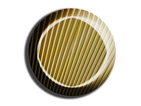 Circular striped bonbon isolated on white Stock Photo - 28819865