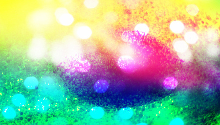 Colorful paints abstract background with lights photo