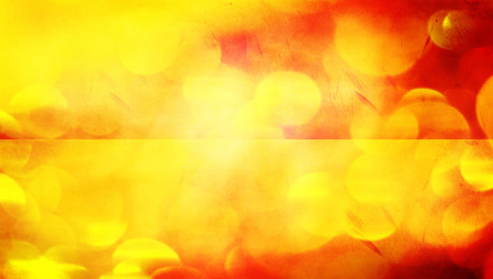 Fire lights horizontal couple of banners abstract background photo
