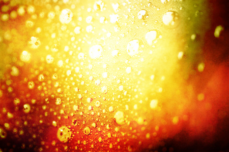 Light on bubbles abstract background photo