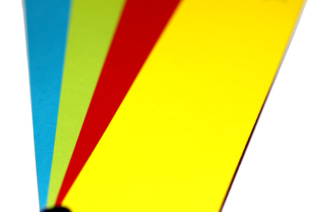 selector: Colourful abstract background of colors selector closeup