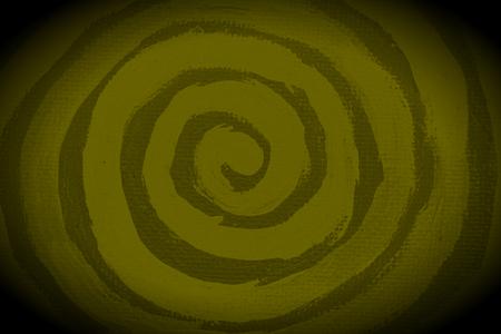 naif: Olive green paint spiral subtle sober elegant background