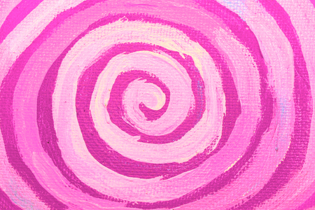 naif: Pink painted spiral abstract background