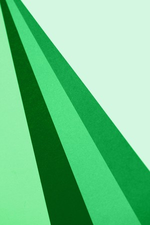 diagonals: Green lines abstract background perspective Stock Photo