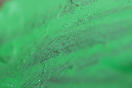 Green blurry paint abstract background photo