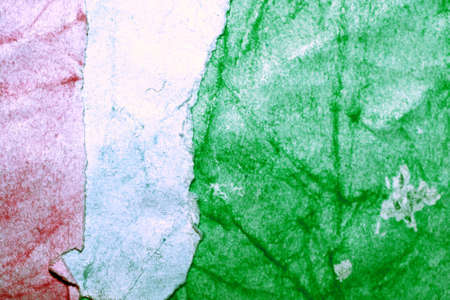 Italy grungy inverted flag of recycled paper abstract background photo