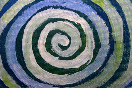 naif: Paint spiral closeup abstract background