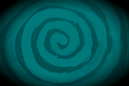 Dark paint spiral shape abstract background