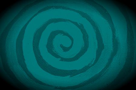naif: Dark paint spiral shape abstract background
