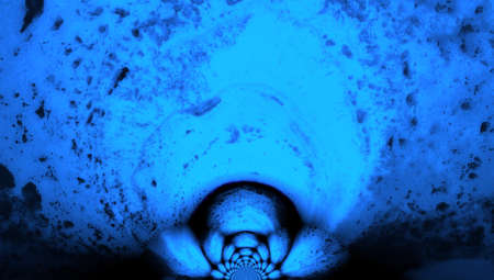profound: Deep abstract blue profound background