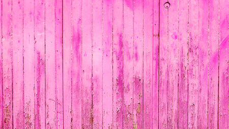 oldish: Pink vintage wood wall abstract background Stock Photo