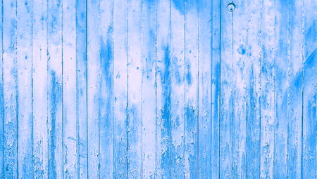 oldish: Blue grunge abstract background of striped wood wall