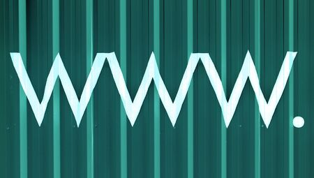 typographies: Www internet letters abstract background of lines