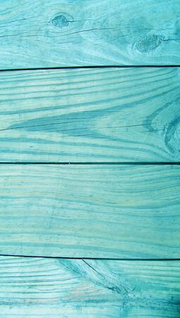 Turquoise wood striped background Stock Photo