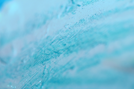 closeups: Blue blurry paint textured abstract background close up