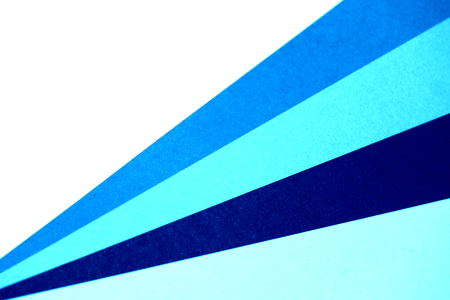 diagonal lines: Blue paper palette diagonal lines abstract background