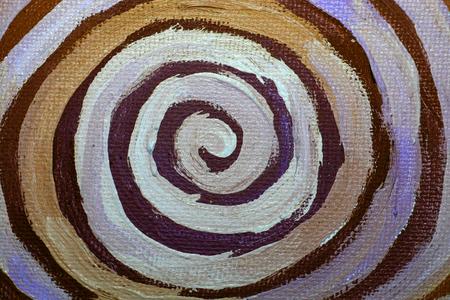 naif: Spiral paint close up abstract background