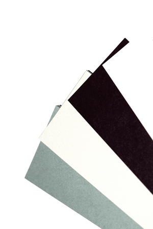 diagonals: Elegant gray black and white papers palette of colors abstract background design