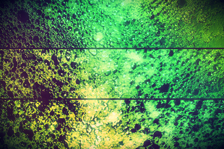 Set of green bubbles abstract backgrounds photo