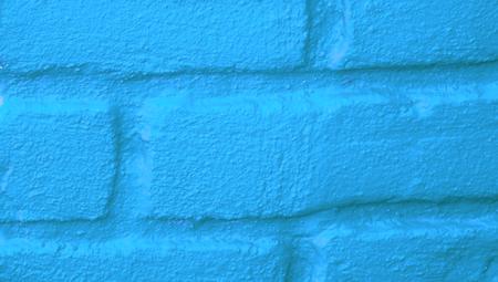 close ups: Cyan blue abstract background closeup of bricks wall