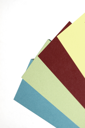 diagonals: Colors business cards papers abstract background