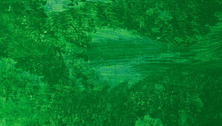 close ups: Green paint macro abstract artistic background