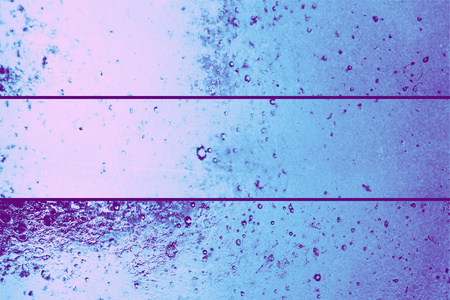 Blue water banners set abstract backgrounds with few little bubbles photo
