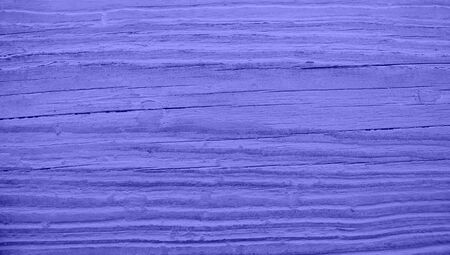 oldish: Blue paint color on wood striped texture background Stock Photo