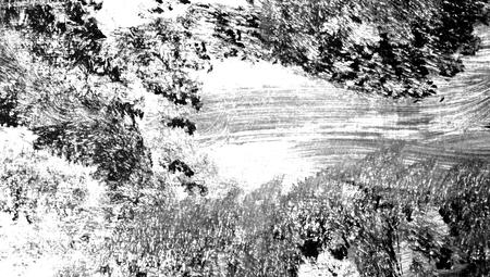bn: Paintbrush texture abstract background macro Stock Photo