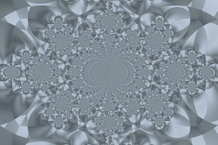 symmetry: Fractal grey abstract background symmetry