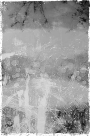 close ups: Stained abstract dark grungy background