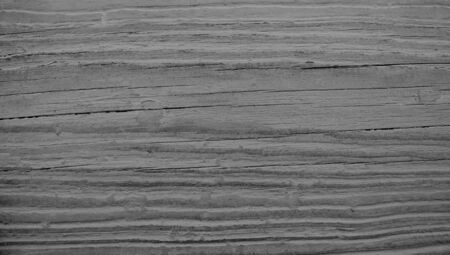 oldish: Dark sober wood striped texture background Stock Photo