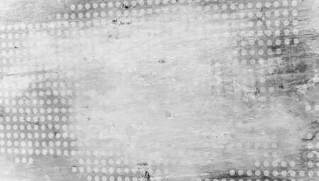 bn: Grey dotted abstract old background Stock Photo