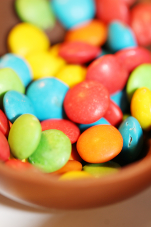 redish: Colorful candies close up