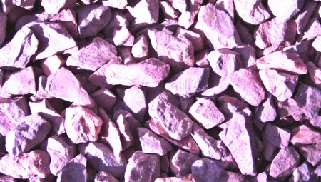 closeups: Lilac stones pieces decoration background closeup
