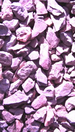 closeups: Purple stones close up backdrop from top view