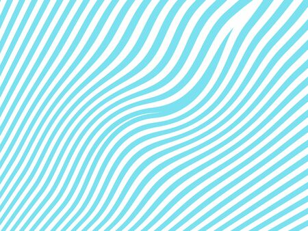 bicolored: Light blue fresh lines pattern isolated on white background Stock Photo