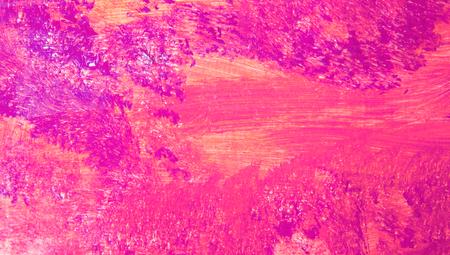 Fuchsia painting macro abstract art background
