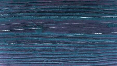 oldish: Dark blue striped wood abstract background closeup Stock Photo
