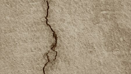 close ups: Crack gray concrete abstract background Stock Photo
