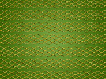 delicated: Green xmas crochet abstract background pattern illustration