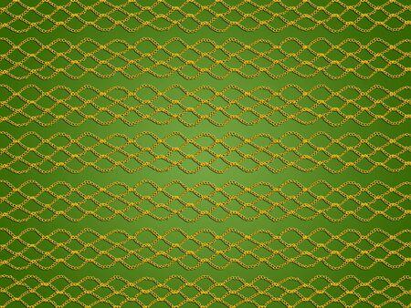 Green xmas crochet abstract background pattern illustration
